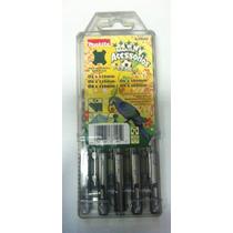 Jogo Broca Makita Sds Plus C/3pç 05,06,08x110mm+06,08x160mm