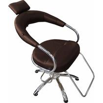Cadeira Cabeleireiro Futurama Hidráulica Salão D Beleza Café