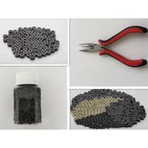 1 Alicate+1 Pote Microlinks Com Silicone Com 1000 Unidade