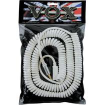 Cabo Vox Vcc-90 Espiral Prata, Preto, Branco