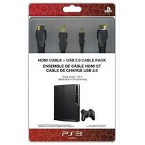 Kit Cabo Hdmi + Cabo Usb Original Sony Para Ps3 Ps4 Lacrado