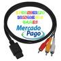 Cabo Audio E Video Super Nes, N64 Game Cube(frete R$ 8,00 )