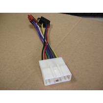 Chicote Nissan Com Plug Iso P/ Som Rádio Cd Dvd - Conector