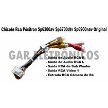 Chicote Rca Pósitron Sp6300av Sp6700dtv Sp6900nav Original