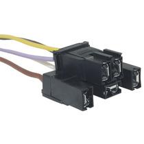 Chicote Conector Plug Soquete Fio Vidro Eletrico Vw Gm 9unid