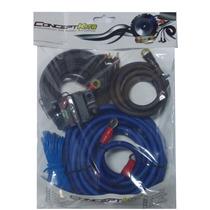Kit Instalação Som Ck-2700w 21mm + Disjuntor + Fio + Rca