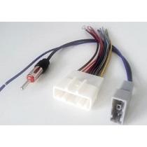 Plug Chicote Conector Adaptador Antena Cd Dvd Rádio Nissan