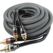 Cabo Rca Series 800 Dupla Blindagem Stereo 1,5 M Technoise