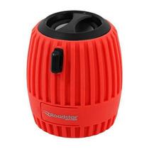 Speaker Portatil Wireles Roadstar Mini Blut Usb Vermelho