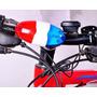 Buzina Eletrica Para Bicicleta 4 Sons 6 Luzes