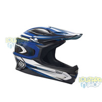 Capacete Asw Extreme Azul Importado Tam G Bike Downhill Dh