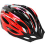 Capacete Ciclista Tamanho G 58-60 Cor Vermelho Com Preto