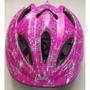 Capacete Ciclista Infantil Trust Mv 6-5 Barbie