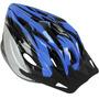 Capacete Ciclista Fcb-22 Tamanho G 58-60 Azul