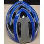 Capacete Raptor Kripta Azul Grafitado Bike Vip