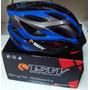 Capacete Ciclismo Tsw Mtb Com Led Sinalizador/bicicleta Top