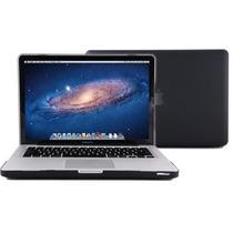 Kit 2x1 Capa Case Protetor Tela Teclado Preto Macbook Pro 15