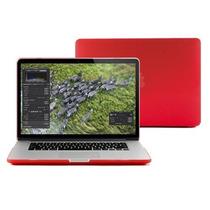 Capa Case Protetor Vermelho Macbook Pro Retina 13
