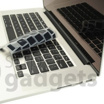 Capa Película De Silicone Teclado Macbook Pro Air + Preta