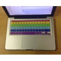 Protetor Teclado Silicone Macbook Pro Air Retina Color