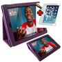 Capa Case Para Apple Ipad 2 Ipad2 Em Couro +pelicula Vidro