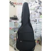 Capa(bag) Luxo Para Violão Folk / Violão 12 Cordas