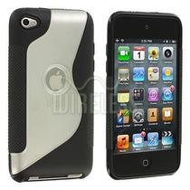 Linda Capa Apple Ipod Touch 4ª Geração Borracha Gel Silicone