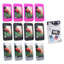 Kit Com 12 - Capa De Silicone Ipod Touch E Iphone 3g E 3gs +
