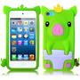 Capa Para Ipod Touch 5 Ou 6 Pig Baby 3d Porquinho Silicone