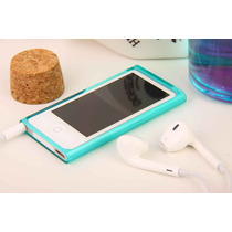 Case Capa Apple Ipod Nano 7 Tpu Macio Transpar. Varias Cores
