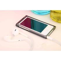 Case Capa Apple Ipod Nano 7 Acrílico Transp. Preta, Vermelha