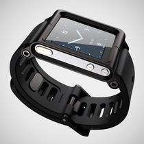 Pulseira Lunatik Apple Ipod Nano 6g Pode Retirar + Brinde