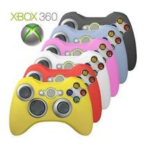 Capa De Silicone Controle Xbox 360 Lavável Com Cores Lindas