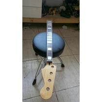 Braço De Baixo Jazz Bass Hard Maple 20 Trastes Rosewood