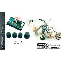 Circuito Pré-amp Seymour Duncan Stc-3p | 3 Bandas Eq | Baixo