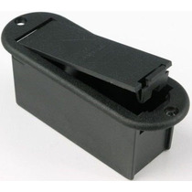 Box Caixa Suporte Porta Bateria 9v Guitarra Baixo Violão Emg