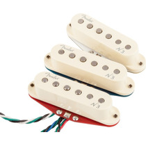 Set Captador Fender Noiseless N3 Strato Trio