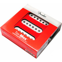 Set Captador Single Fender Tex Mex Stratocaster Completo