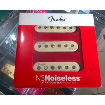 Captadores Fender N3 Noiseless Stratocaster Set - Novo - Usa