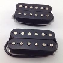 Custom 2-s Captador Malagoli Para Guitarra Ponte Cor Preto