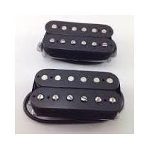 Captador Para Guitarra Custom 59 Malagoli Ponte Cor Preto