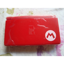 Carcaça Mario (red) P/ Nintendo Ds Lite