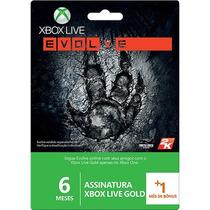 Xbox Live Gold 6 Meses +1=7 Br Usa Cartão Assinatura 360 One