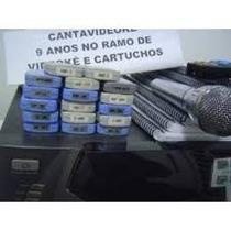Cartucho 01 Videoke 3700 E 2500 Com 400 Canções