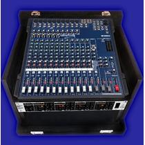 Hard Case Mesa Yamaha Mg166cx E Periféricos Promoção 260,00