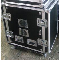 Case Periferico 16 Unidades Rack Completo Com Rodas