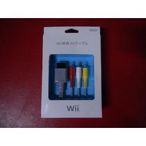 Frete Grátis - Cabo Av - Rca Nintendo Wii - Parcele Sem Juro