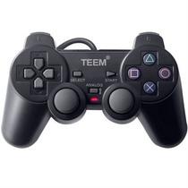 Controle, Joystick, Manete - Playstation 2 - Cabo 2m - Teem