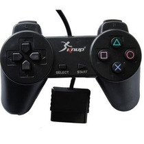 Kit 5 Controle Playstation 2 Ps2 Dualshock 2 Knup Analogico