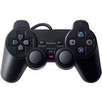 Controle - Manete - Playstation 2 - Ps2 - Vibratório